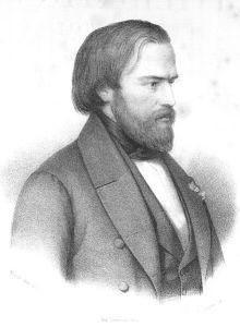 """Gravure d'Antoine Maurin dit """"Maurin l'aîné"""" (1793-1860) à partir d'un dessin de Louis Janmot (1814-1892)"""