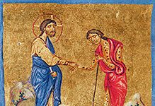 jesus Cleanses the Leper