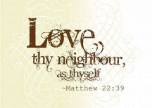 Love thy neighbor untitled
