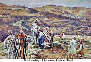 Jesus sends out the Twelve